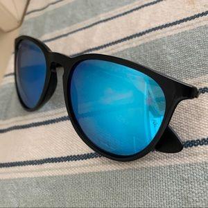 Rayban Erika Sunglasses blue mirrored